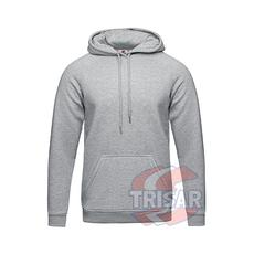 hoodie_gray melange